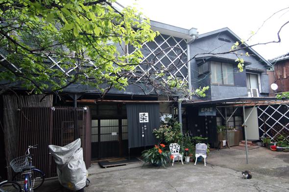 神田川のほとりに博物館が。