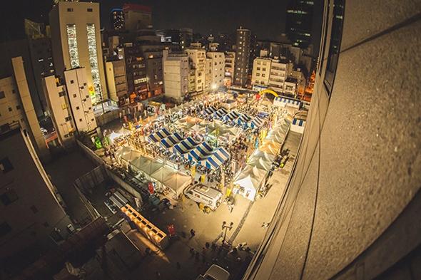 2015年開催時の風景