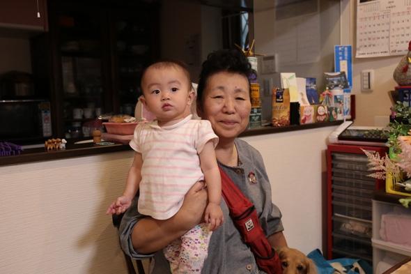 村田さんとお孫さん