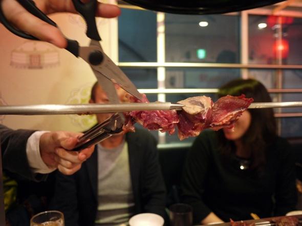 ようやくラストの肉