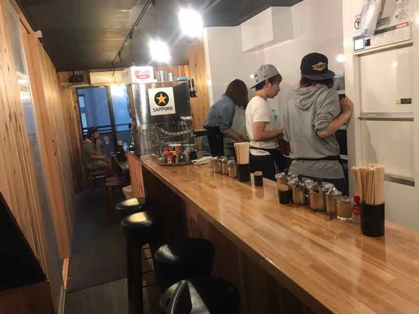 博多ラーメン ばりちゃん高田馬場本店 2階席