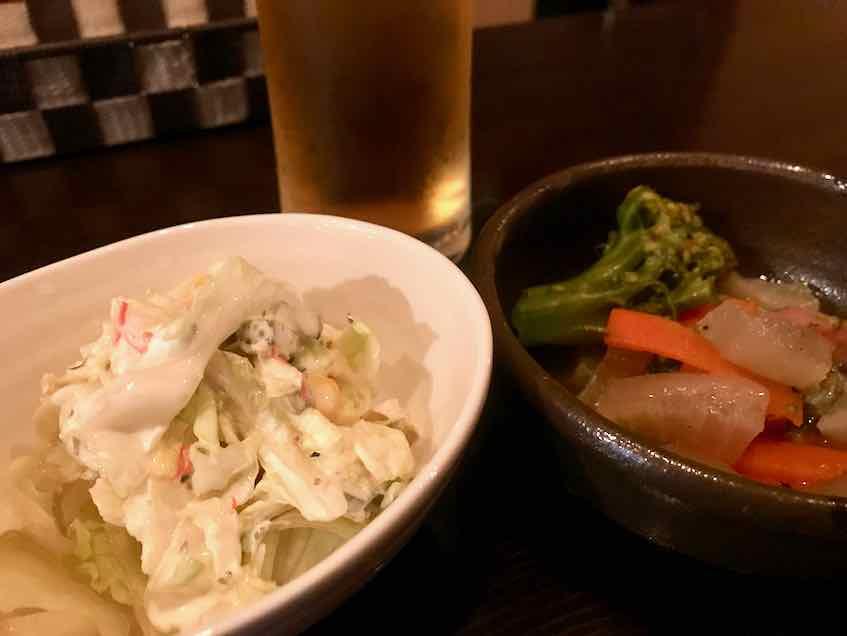西早稲田・Rock Bar 東京スミス・お通し2品