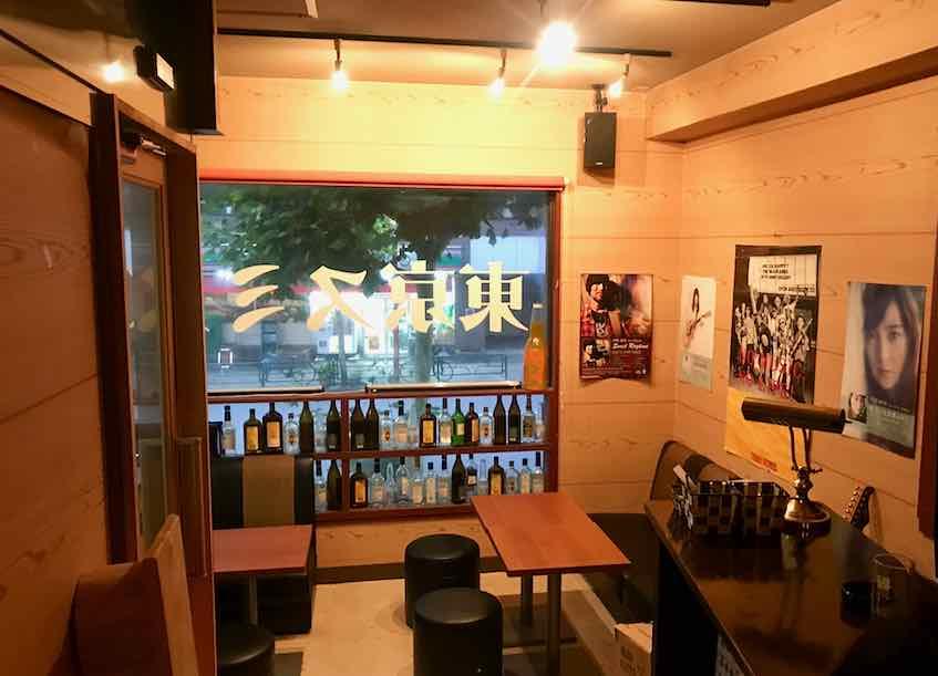 西早稲田・Rock Bar 東京スミス・店内