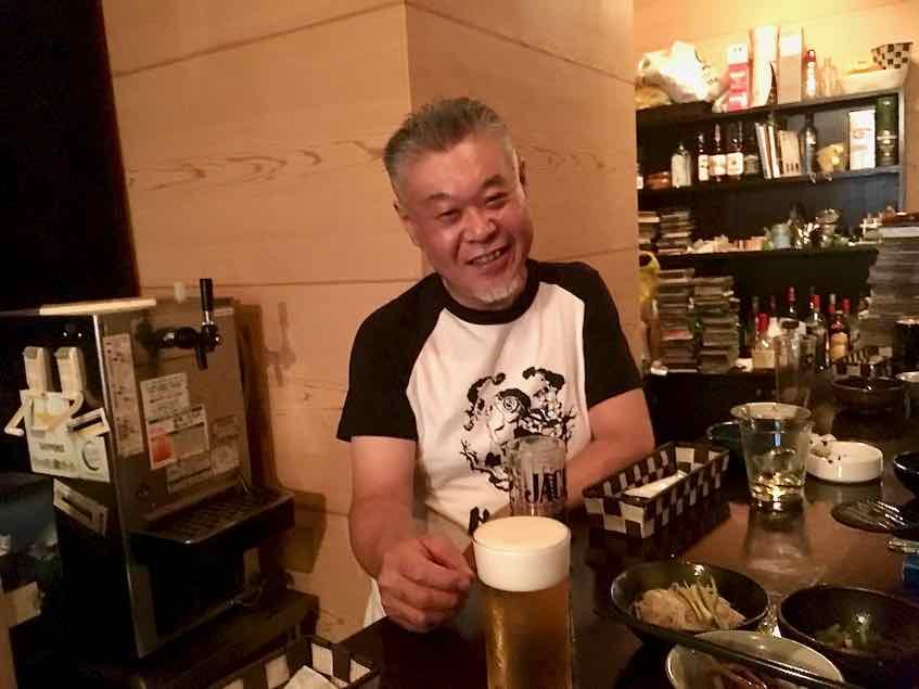 西早稲田・Rock Bar 東京スミス・Fatsファッツさん